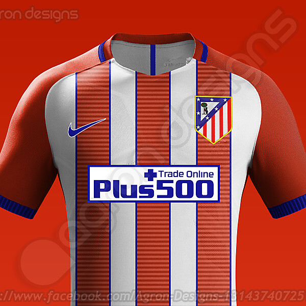 Nike Atlético Madrid 2016-17 Home Kit Concept
