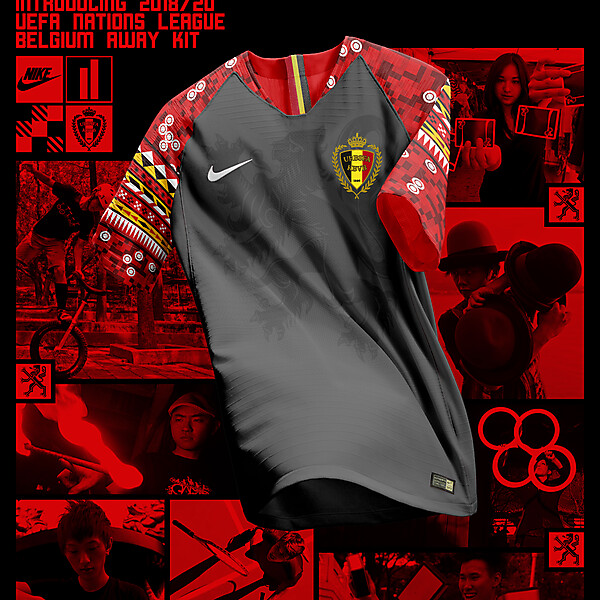 Nike Belgium Away Shirt