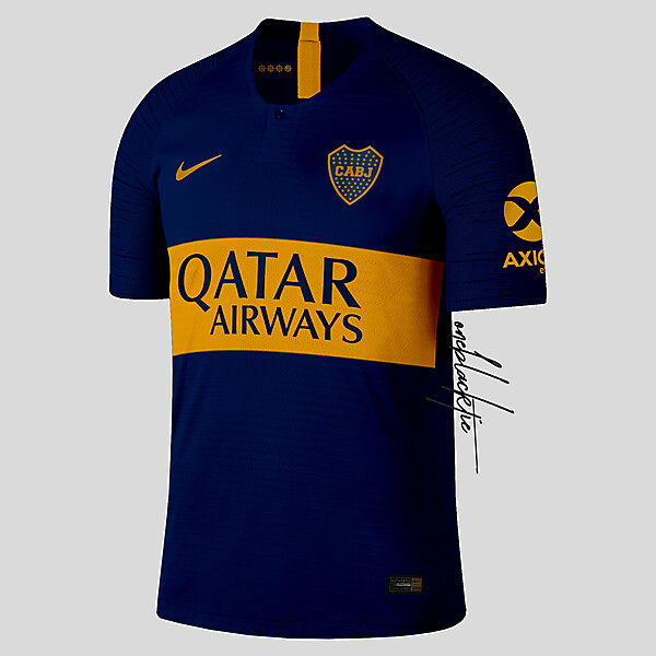 Nike CA Boca Juniors Home Jersey Preview
