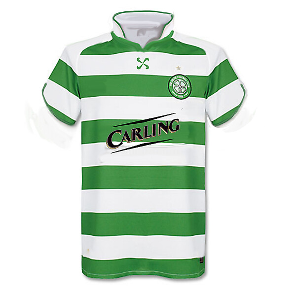 Celtic Nike Flower Home Shirt 2