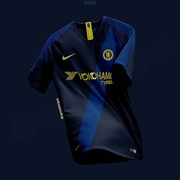 NIKE CHELSEA FC THIRD KIT CONCEPT