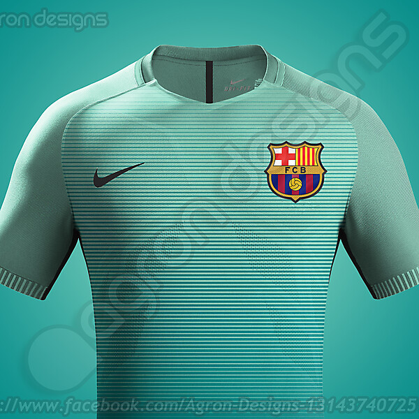 Nike Fc Barcelona 2016-17 Third Kit Possible