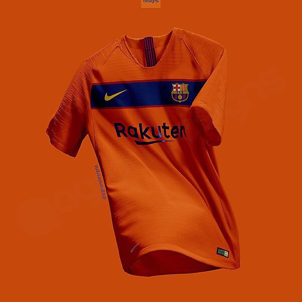 NIKE FC BARCELONA  AWAY KIT CONCEPT