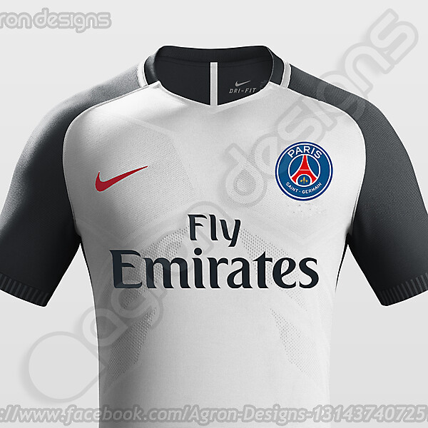 Nike Paris Saint-Germain (PSG) Special Kit 2016-17