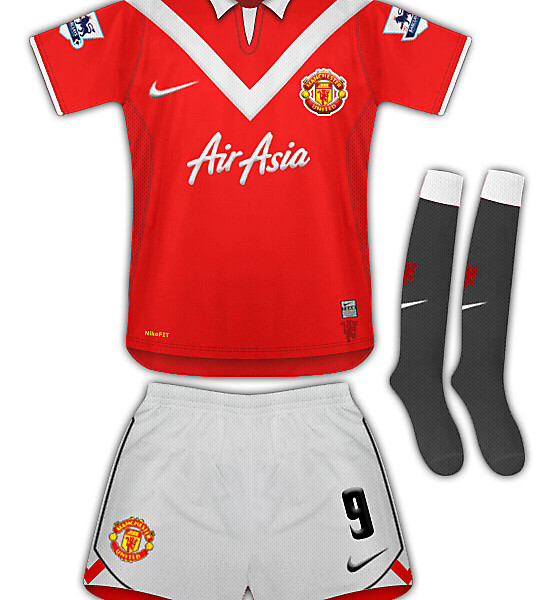 New Man Utd Leaked Kit 09/10