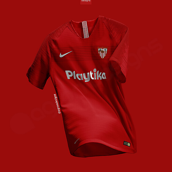 NIKE SEVILLA FC AWAY KIT CONCEPT