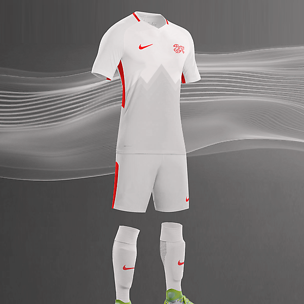 Nike Switzerland Away 2018-2019