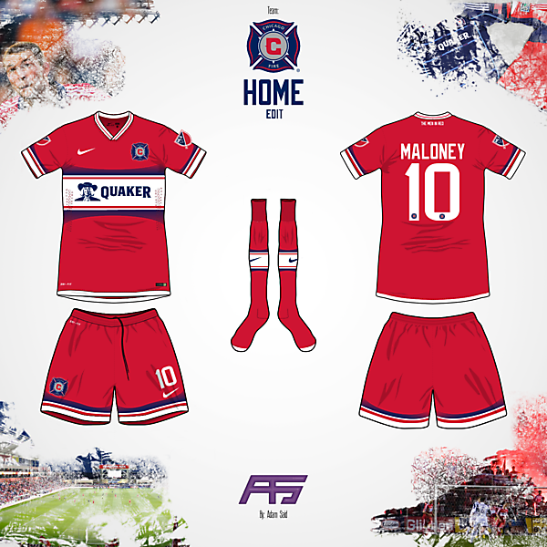 Nike Takeover's MLS (Chicago Fire Home)
