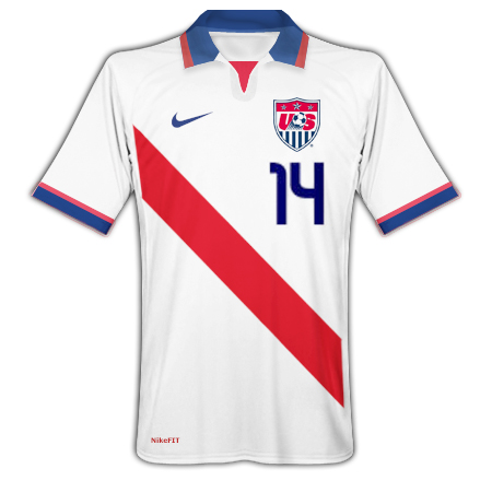 USA Nike Home Kit