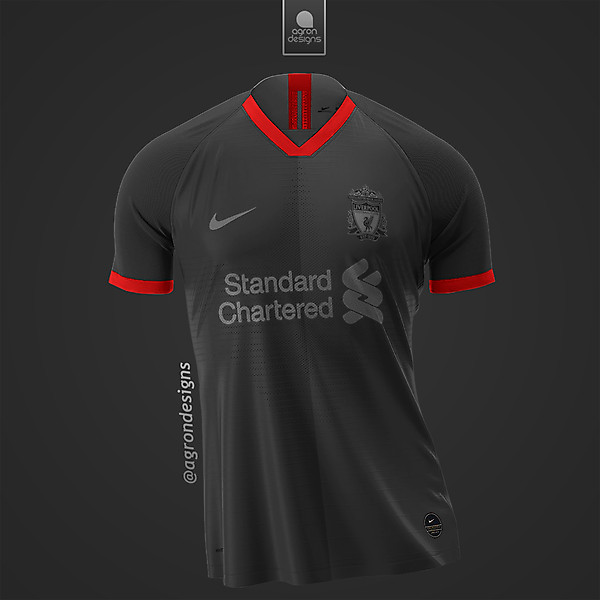 NIKE X LIVERPOOL FC THIRD KIT CONCEPT