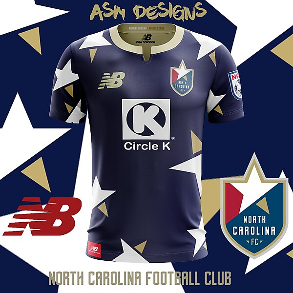North Carolina FC 2018 New Balance Home Kit