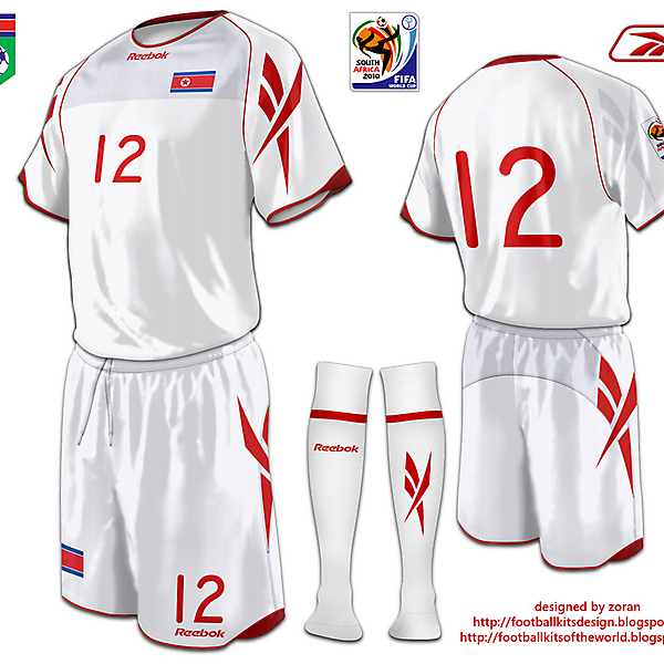 North Korea World Cup 2010 fantasy away