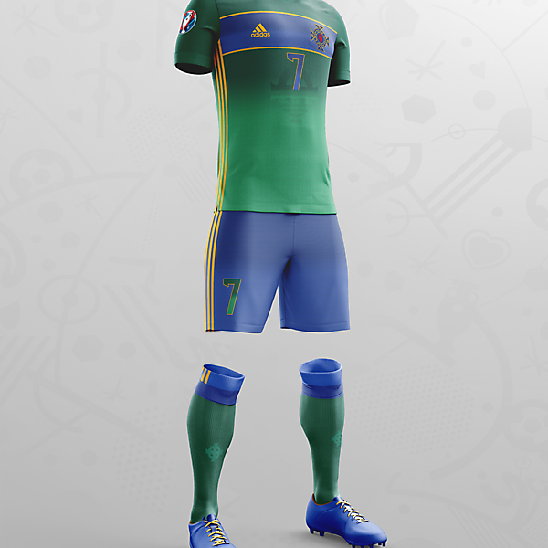 NORTHERN IRELAND EURO 16 HOME