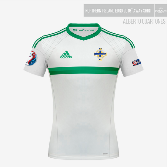 Northern Ireland UEFA EURO 2016™ Away Shirt