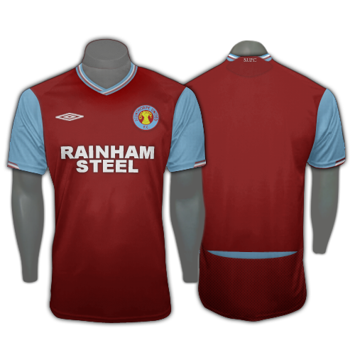 Scunthorpe United Home Shirt 09/10