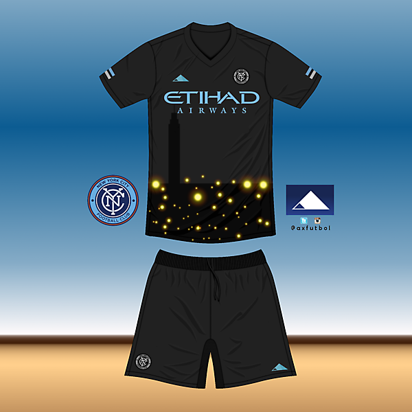 NYCFC Away Kit own design