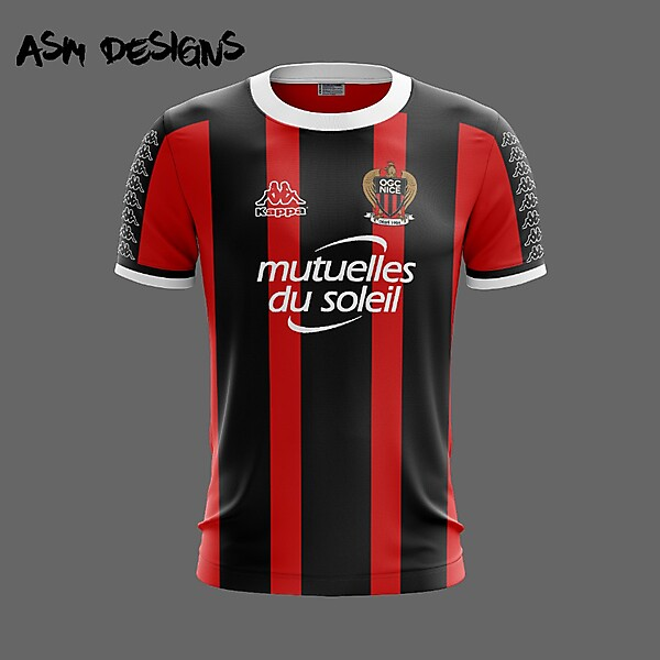 OGC Nice Kappa 2018 Home Kit