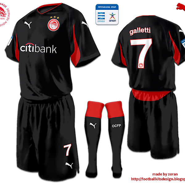 Olympiacos Piraeus away fantasy