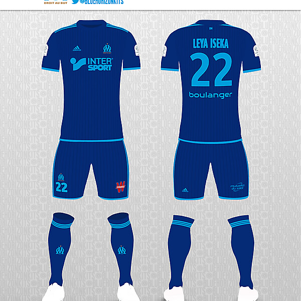 Olympique de Marseille Away Kit Kit