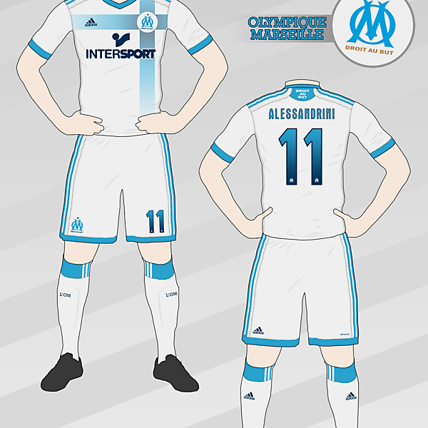 Olympique de Marseille Home Kit