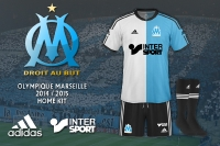 Olympique Marseille 2014-2015 Home Kit