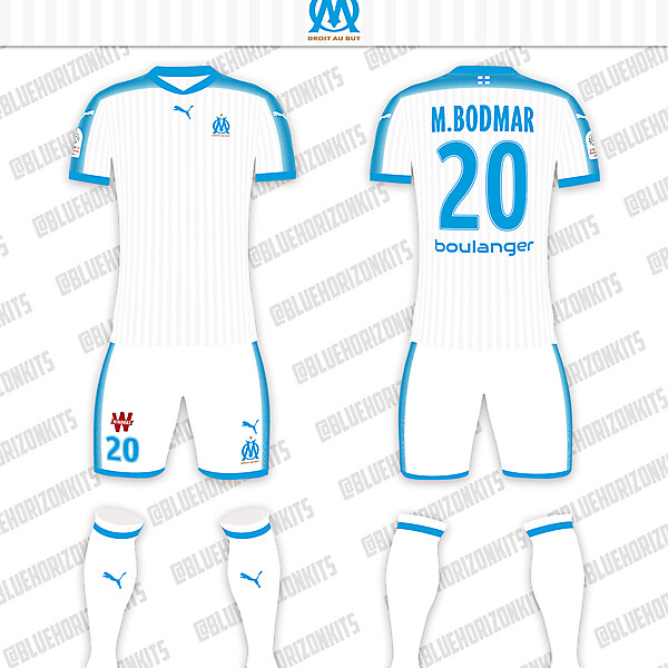 Olympique Marseille Home Kit