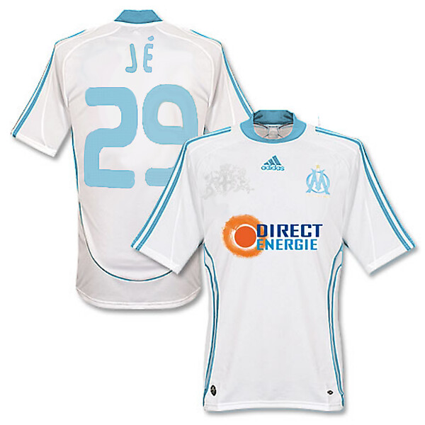 Olympique de Marseille (OM) adidas Home Shirt