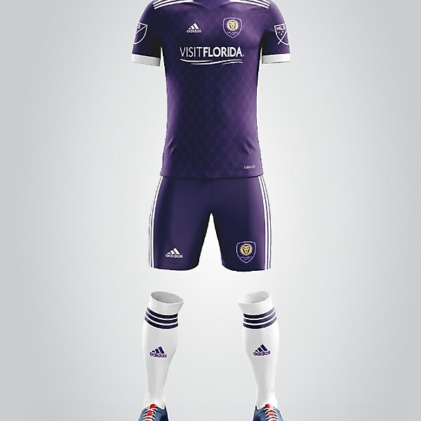 Orlando City SC Adidas 2018 Full Kit