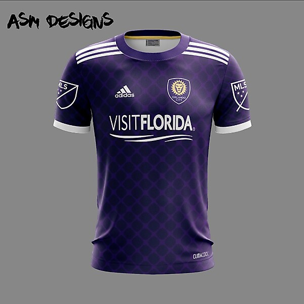 Orlando City SC Adidas 2018 Home Kit