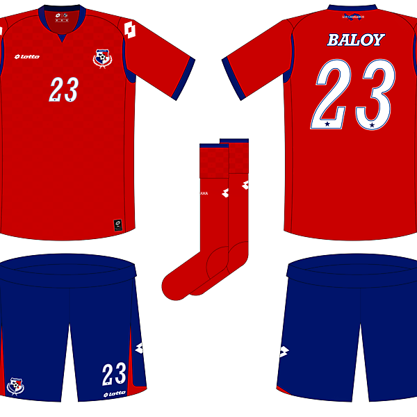 Panama Home Kit - WC Competition