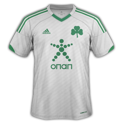 Panathinaikos fantasy kits with Adidas