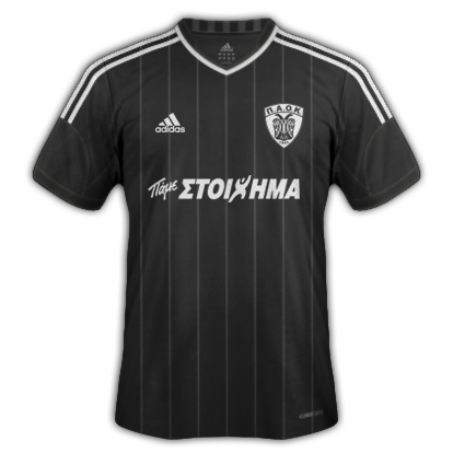 PAOK kits for 2013/14 (Adidas)
