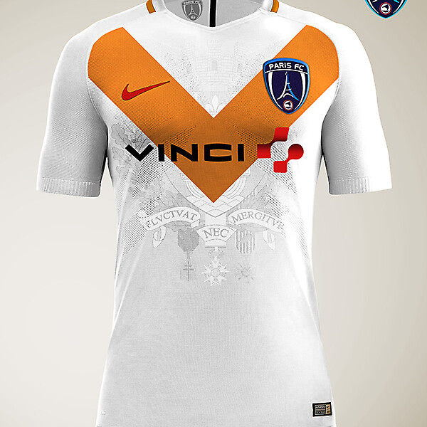 Paris FC - Nike Away