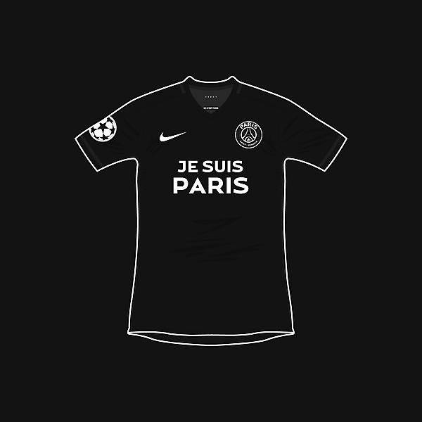 Paris Saint-Germain x Je Suis Paris