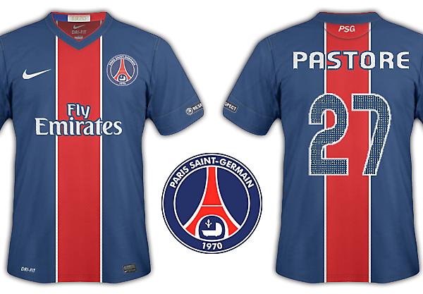 Paris St Germain kits 2012-13