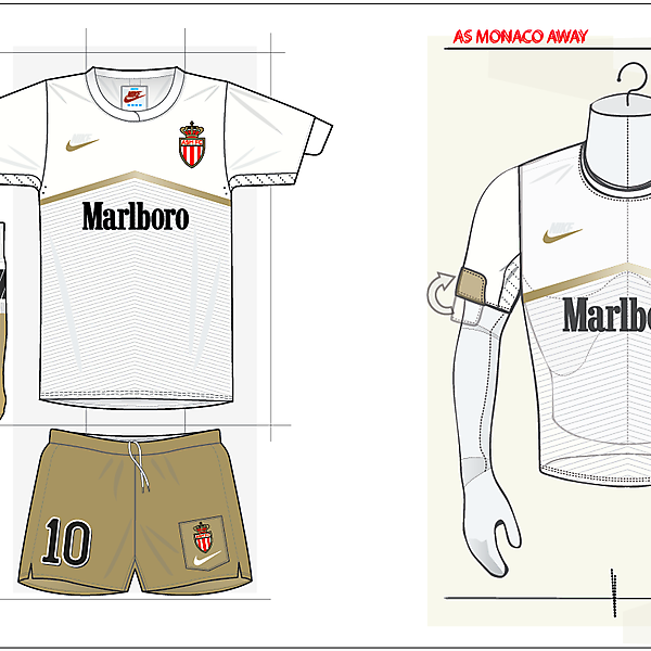 If Marlboro sponsored Monaco - Away