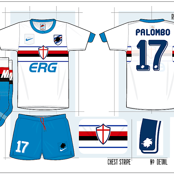 Sampdoria - Nike Template