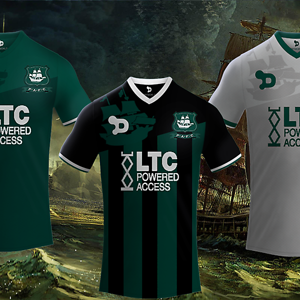 Plymouth Argyle Fc / Dryworld Kits 2017-2018