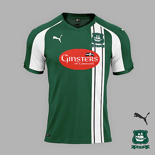 Plymouth Argyle home jersey