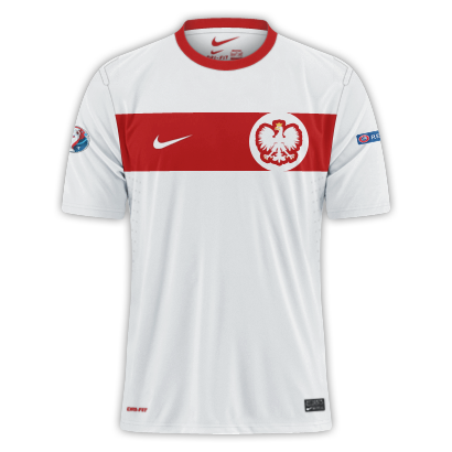 Poland - Euro 2016 Fantasy Home Shirt