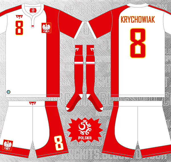 Poland National Team - Home Fantasy Kit