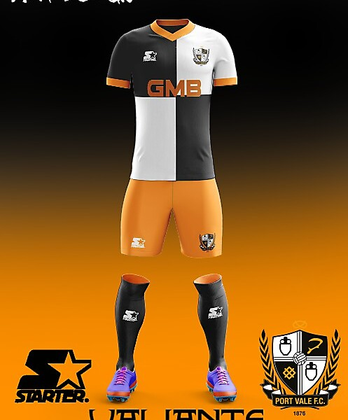 Port Vale F.C. Starter 2018 Home Kit