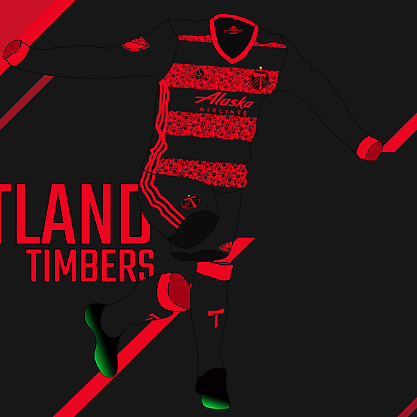 Portland Timbers - Away kit