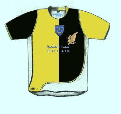 portsmouth fantasy third shirt