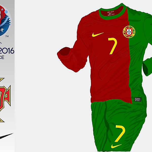 Portugal 2016 Home Kit