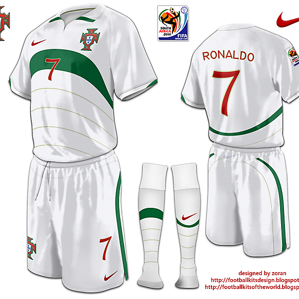 Portugal World Cup 2010 fantasy away