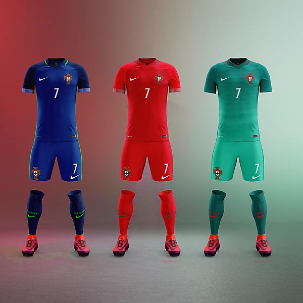 Portugal x Nike - All front