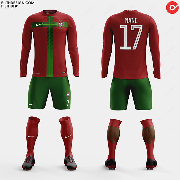 Portugal x Nike | Home Kit