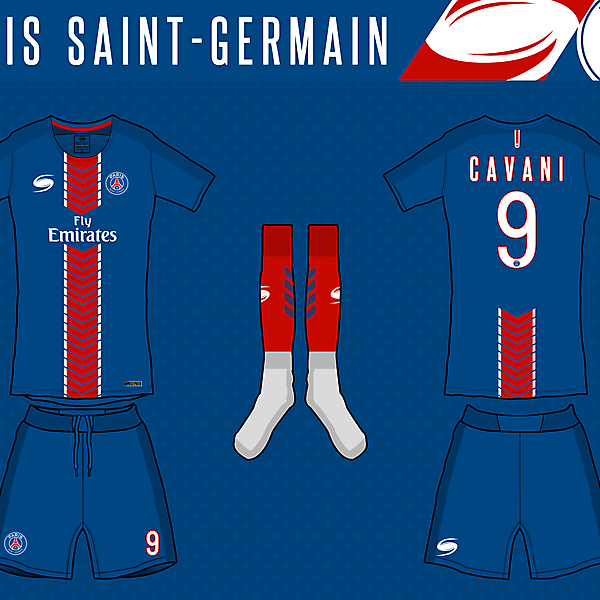 PSG - 1st kit by STORM