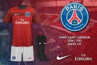 PSG 2014-2015 Away Kit